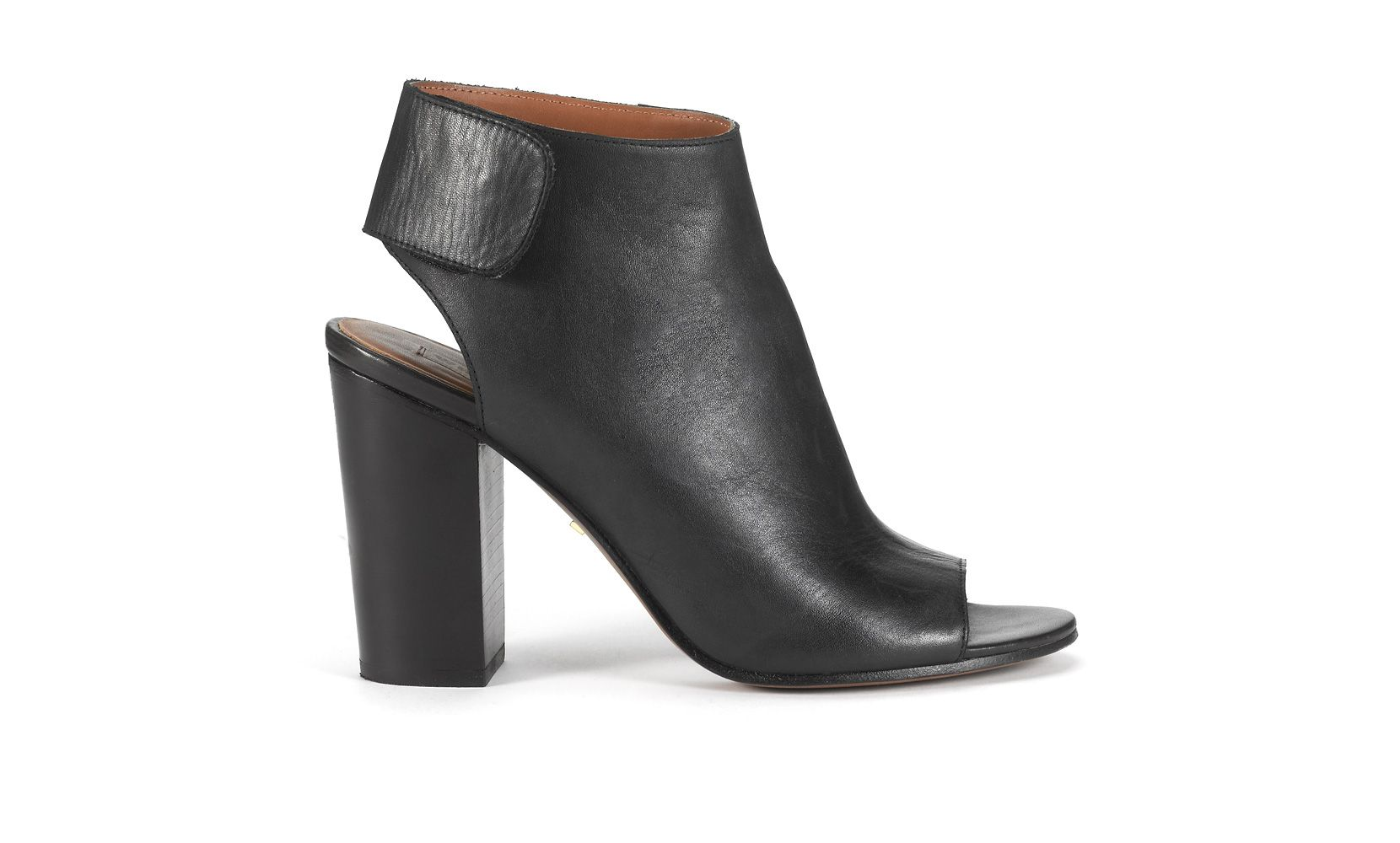 Ania open toe boot