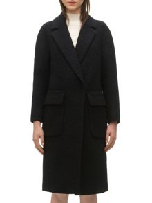 Julia boucle long coat