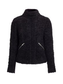 Cassie Boucle Knitted Jacket