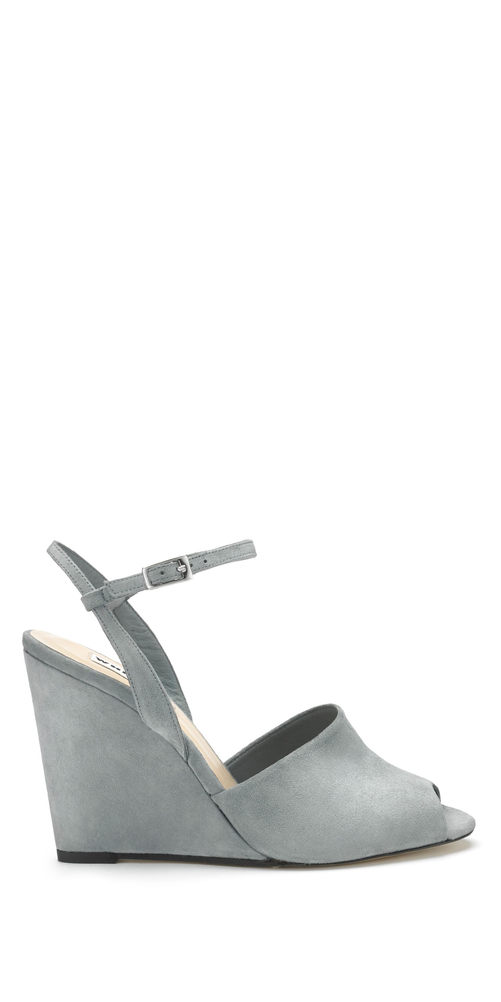 Lily ankle strap wedge