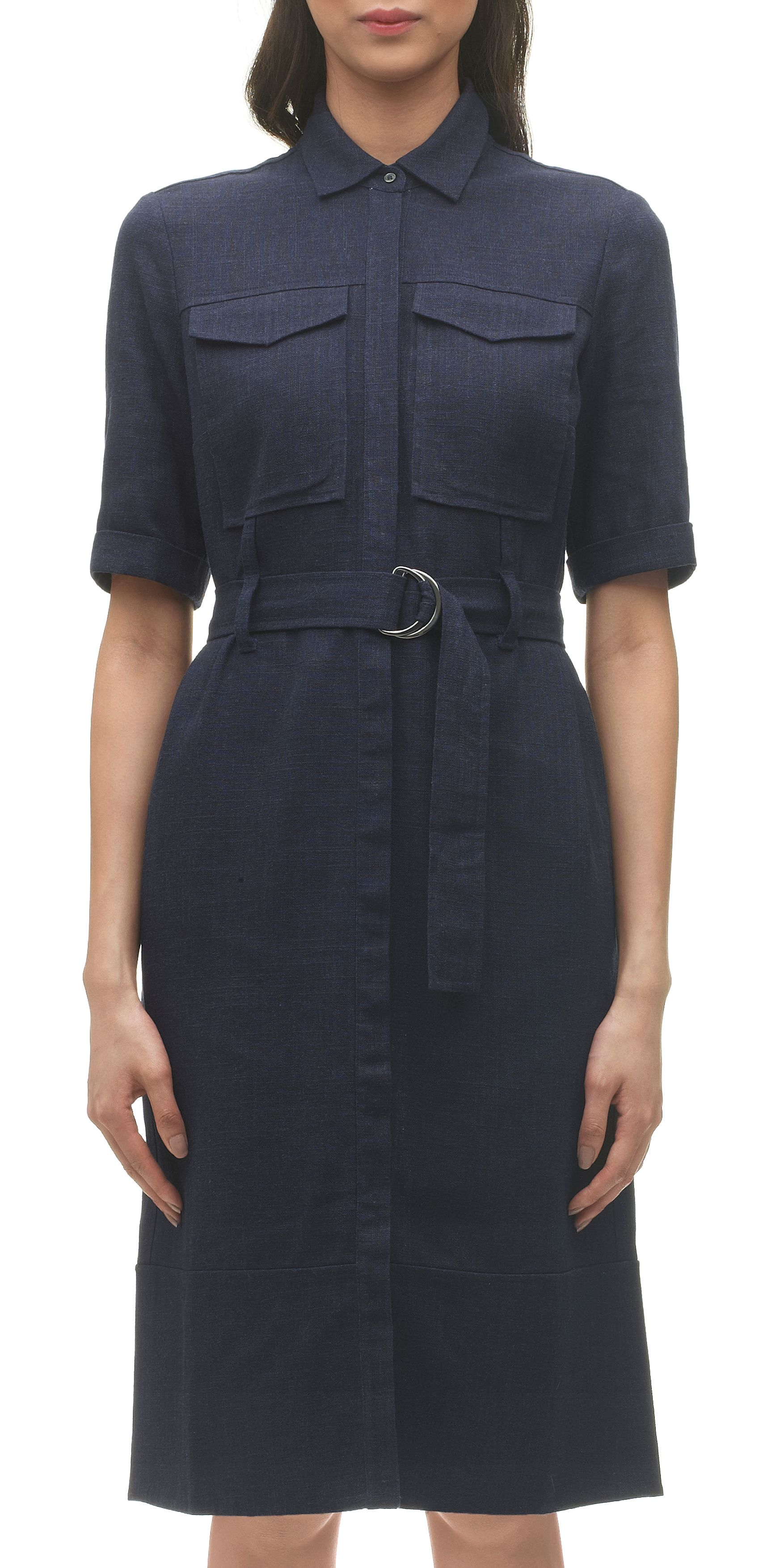 Hilary utility shirt dress