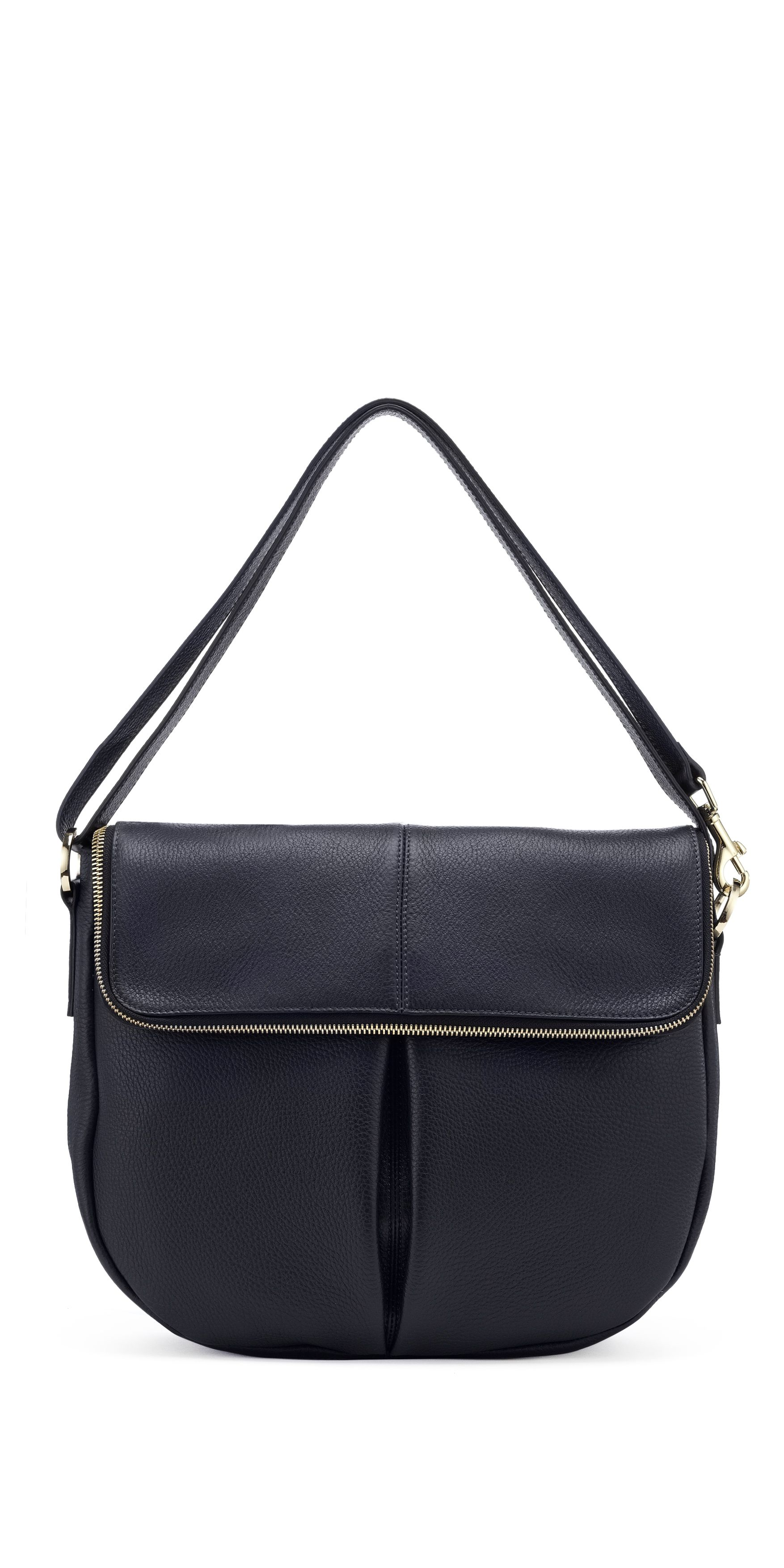 Duffy zip satchel