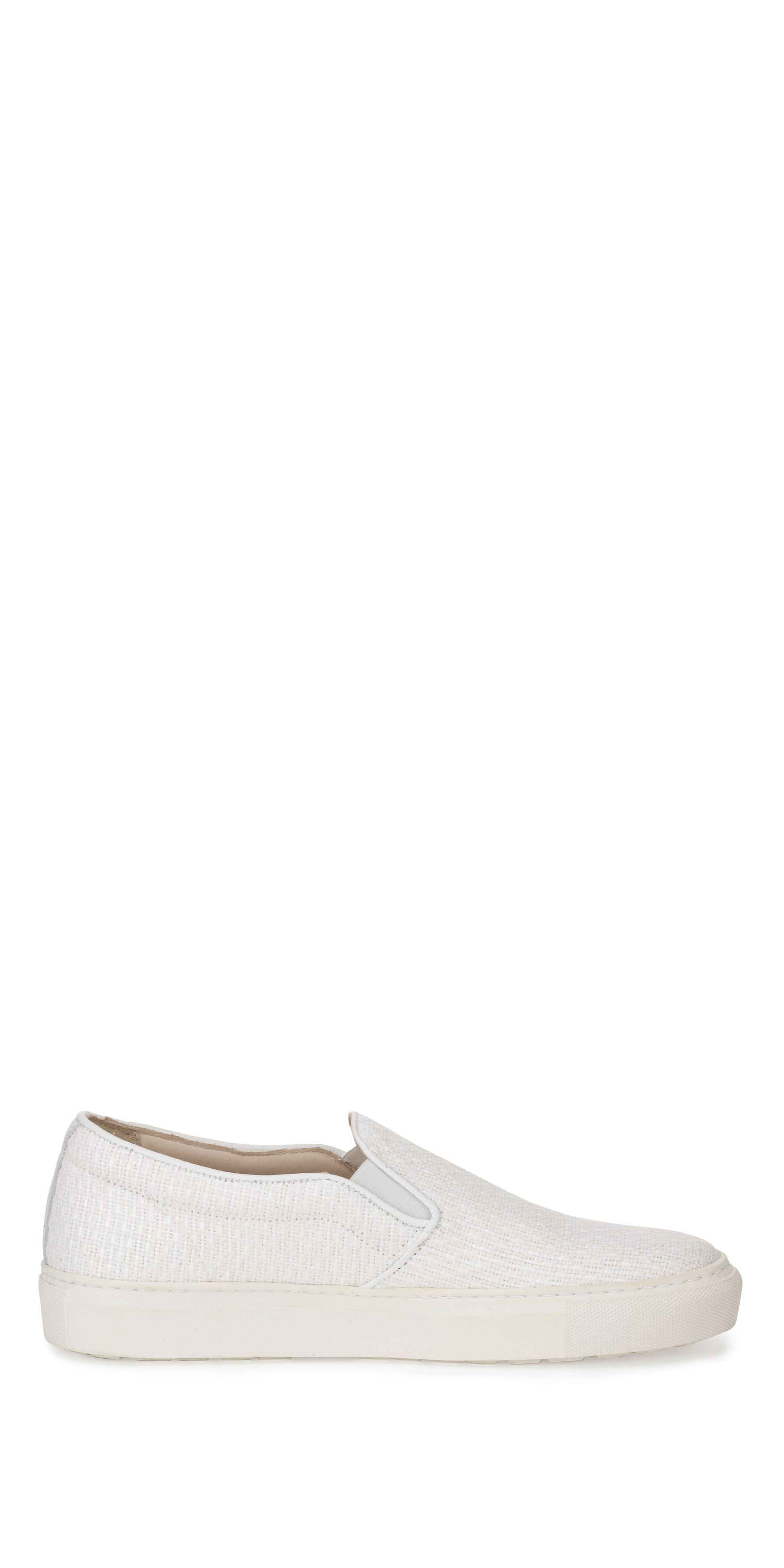 Lena raffia slip on trainer