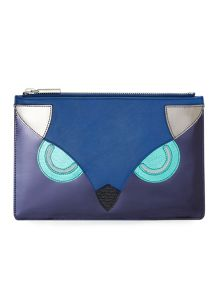 The owl small clutch