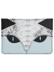 The cat credit card holder