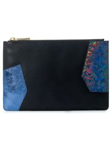 Small patchwork clutch