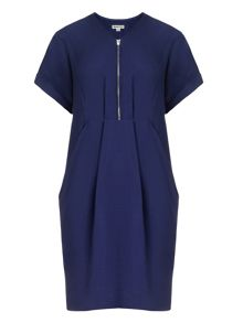 Poppy zip front dress