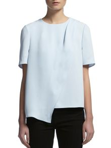 Asymetric frill top