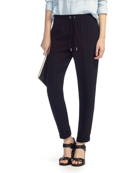 Whistles Helena Sporty Crepe Trousers