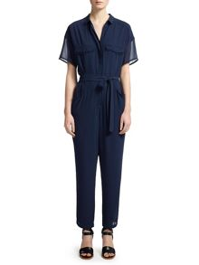 Claribel frayed edge jumpsuit
