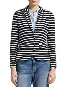 Double Faced Stripe Jacket