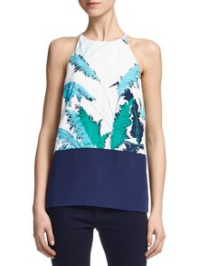 Pampus Print Strappy Top