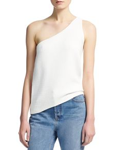 Brava Knitted One Shoulder Top