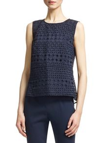 Eyelet Broiderie Top