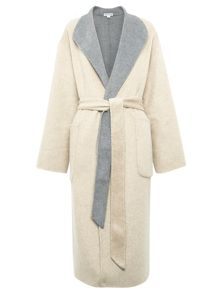 Split Seam Wrap Coat