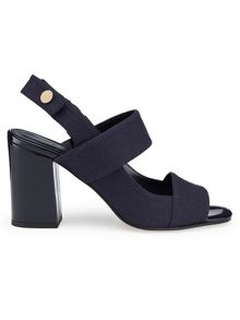 Felt Double Band Sandal