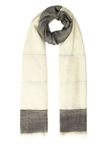 Contrast Woven Scarf