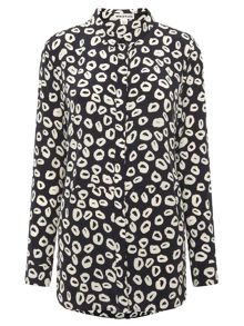 Mini Loop Print Shirt