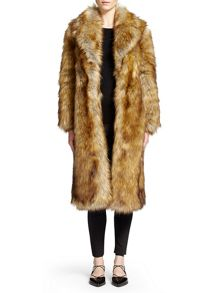Wolfie Faux Fur Coat