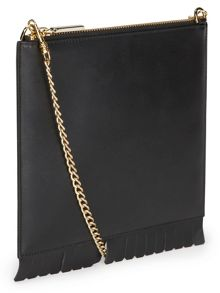 Fringe Perry Chain Clutch