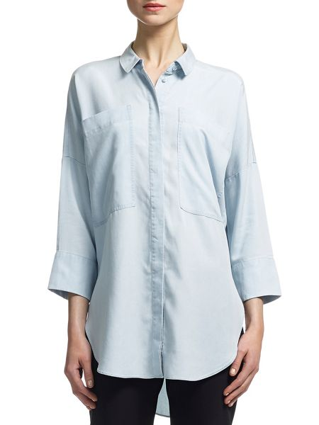 Whistles Anna Ultimate Tencel Shirt