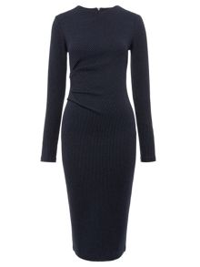 Drew Pinstripe Bodycon Dress