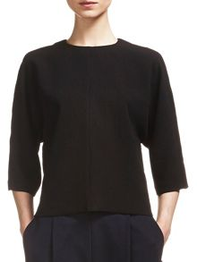 Mix Crepe Slouch Top
