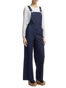 Whistles Wide Leg Dungarees