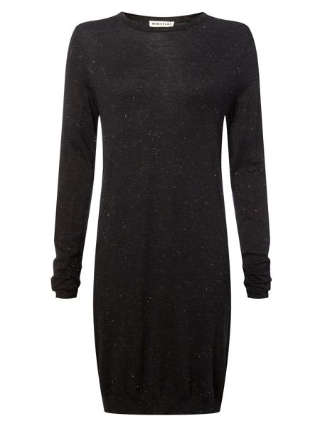 Whistles Annie Sparkle LS Knit Dress