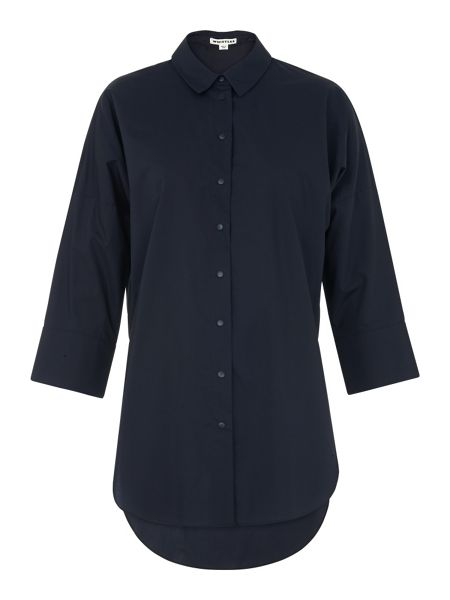 Whistles Oversized poplin shirt