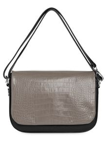 Whistles Arion Croc Front Bag