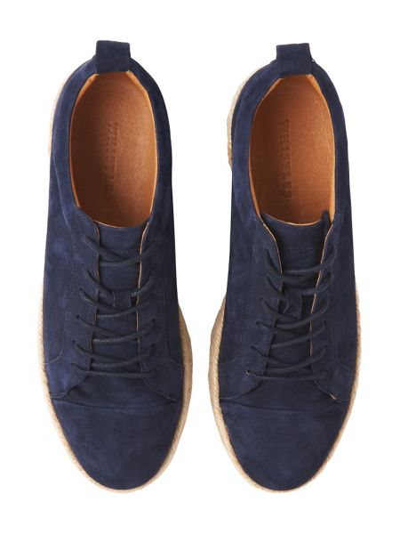 Whistles Melby Suede Espadrille Trainer