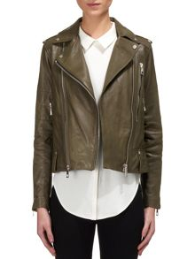 Payne Leather Biker Jacket