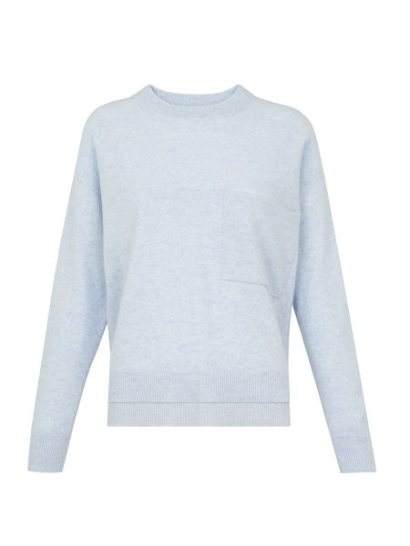 Whistles Cashmere Pocket Detail Jumper