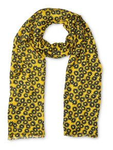 Whistles Daisy Print Scarf