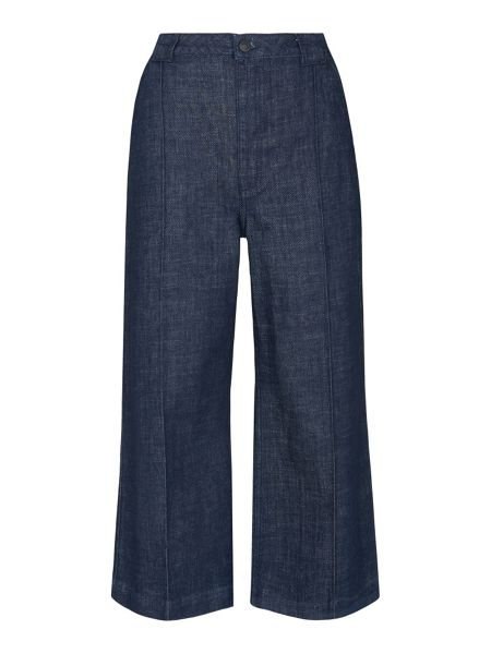 Whistles Lucie Utility Cropped Wide Leg