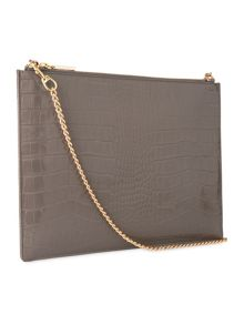 Shiny Croc Rivington Clutch
