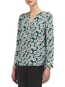 Whistles Daisy Print Blouse