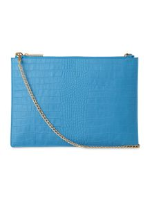 Whistles Matte Rivington Chain Clutch
