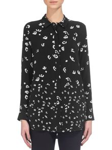 Whistles Abstract Print Shirt