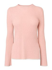 Whistles Fluted Sleeve Knit