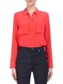 Whistles Military Silk Shirt