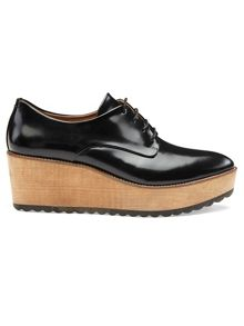 Ko Wood Lace Up Shoe