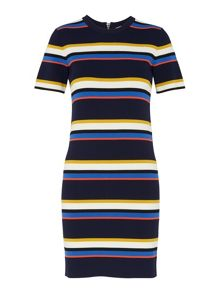 Whistles Stripe Tee Dress