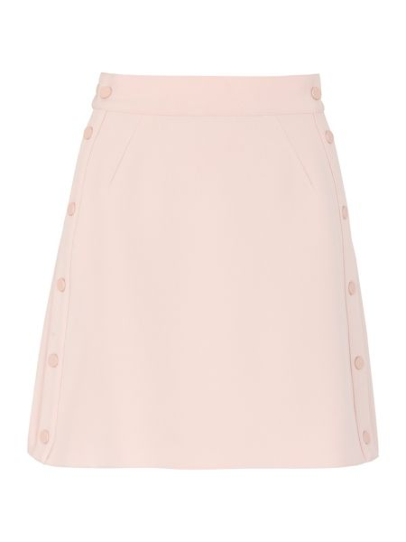 Whistles Popper Side A-line Skirt