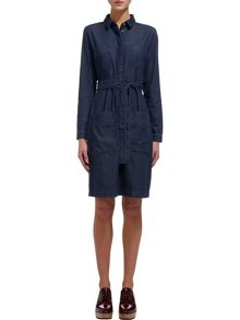 Whistles Carrie Denim Shirt Dress