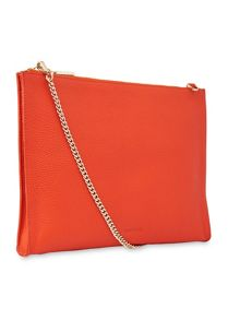 Whistles Leather Chain Pouch