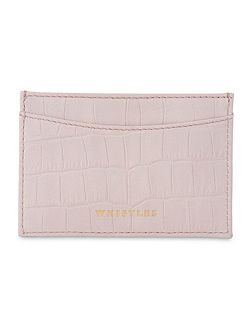 Matte Leather Card Holder
