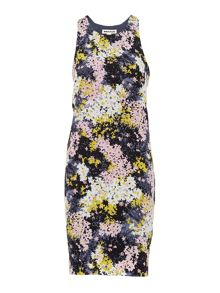 Whistles Wild Floral Paloma Silk Dress