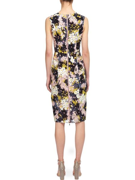 Whistles Wild Floral Bodycon Dress